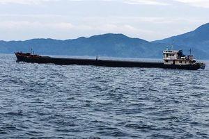 Cảnh sát biển tạm giữ hơn 2.500 tấn than trên tàu Nam Vỹ 79