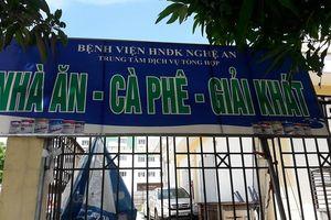 Xử phạt căng tin BV ở Nghệ An về vệ sinh an toàn thực phẩm