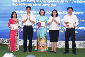 Hải Dương trao giải 20 tác phẩm báo chí nhân Kỷ niệm 94 năm Ngày Báo chí Cách mạng Việt Nam