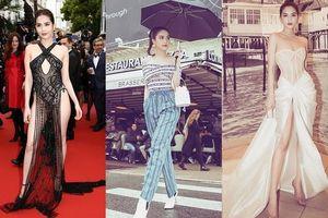Sau Cannes, Ngọc Trinh lại được báo Thái khen ngợi phong cách thời trang tới tấp
