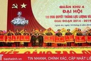Bộ Tư lệnh Quân khu 4 tuyên dương 2 tập thể, 5 cá nhân lực lượng vũ trang Hà Tĩnh