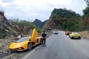 Lamborghini Avantador S 'gặp nạn' trên cao nguyên Mộc Châu