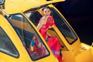 Kha Mỹ Vân, Kim Nhung lăng- xê xu hướng họa tiết rực rỡ, trang phục oversize chiếm sóng ngày hè 2019