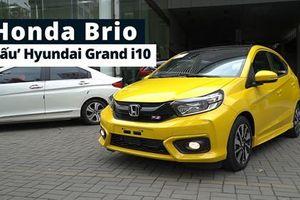 Honda Brio có gì để 'đấu' Hyundai Grand i10 và Kia Morning?