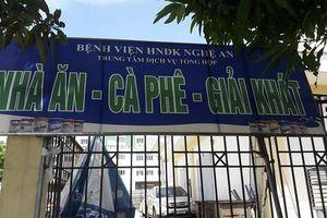 Một đơn vị y tế tại Nghệ An bị xử phạt vi phạm an toàn thực phẩm