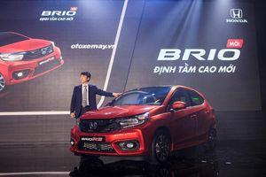 Honda Brio mới có giá cao nhất 452 triệu đồng