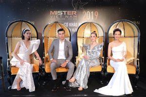 Hoa hậu Thu Thủy ngỡ ngàng trước dàn nam thần 6 múi của Mister Vietnam