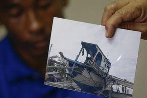 Ông Duterte lần đầu lên tiếng về vụ tàu cá bị tàu Trung Quốc đâm chìm
