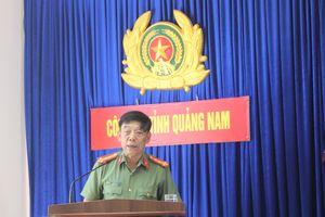 Công an tỉnh Quảng Nam gặp mặt báo chí
