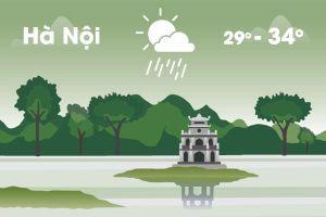 Thời tiết ngày 19/6: Hà Nội có mưa giải nhiệt, Sài Gòn mát mẻ