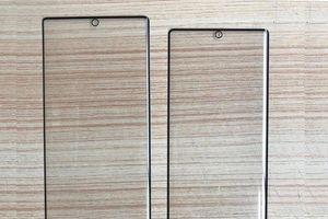 Đây là mặt trước của bộ đôi Galaxy Note 10