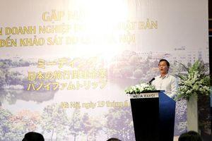Đẩy mạnh hợp tác phát triển du lịch Hà Nội - Nhật Bản