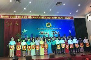 Lạng Sơn: LĐLĐ huyện Đình Lập tổ chức hội thi cán bộ CĐCS giỏi