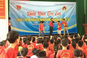 Hướng dẫn tổ chức Diễn đàn trẻ em