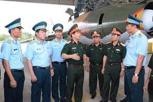 Thượng tướng Phan Văn Giang làm việc tại tỉnh Ninh Thuận