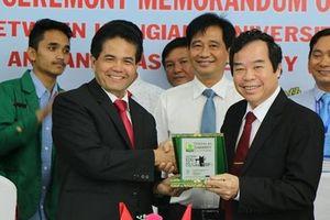 Đại học Kiên Giang hợp tác quốc tế góp phần nâng cao chất lượng giáo dục