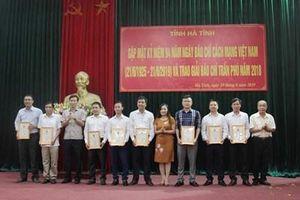 Báo Bảo vệ pháp luật giành giải C 'Giải báo chí Trần Phú năm 2018'
