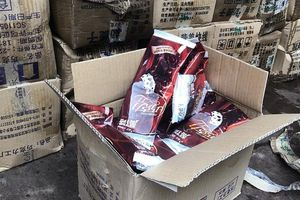 Nhập lậu 8.000 que kem Trung Quốc