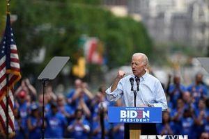 Mỹ: Ông Joe Biden nhận được nhiều sự ủng hộ về tài chính