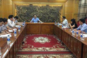 Phó Tổng Thanh tra Trần Ngọc Liêm làm việc với Trung tâm Thông tin