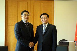 Phó Thủ tướng: Mong muốn các tập đoàn Hàn Quốc chọn Việt Nam làm 'cứ điểm' đầu tư