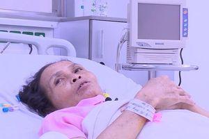 Cứu sống người phụ nữ bị khối u máu khổng lồ kích thước tới 30cm