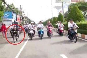 Xử phạt nhiều đối tượng trong nhóm chạy xe máy 'bốc đầu' ở Bạc Liêu
