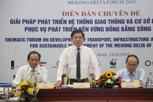 Các giải pháp phát triển giao thông Đồng bằng sông Cửu Long