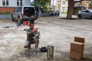 Lào Cai: Tiếp nhận tài trợ 10 thiết bị đo mưa tự động