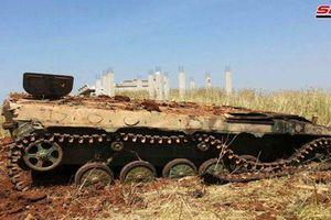 Pháo binh Syria tập kích chiến tuyến của thánh chiến phía bắc Hama