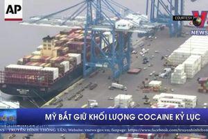Mỹ bắt giữ khối lượng cocaine kỷ lục