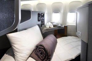 Tiện nghi hiện đại bên trong máy bay giường nằm của Mỹ