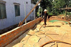 Chư Sê (Gia Lai): Người dân khốn khổ vì hệ thống thoát nước dự án làm hư hại tài sản