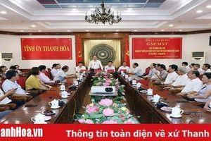 Thường trực Tỉnh ủy gặp mặt các cơ quan báo chí