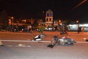 Xe máy đấu đầu nhau, 1 người tử vong ở Bình Thuận