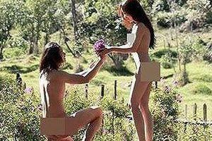 Cặp đôi chụp ảnh khỏa thân 'bôi bẩn' Đà Lạt: Bị nhắc nhở và yêu cầu gỡ ảnh