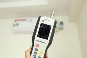 Thử nghiệm điều hòa có chức năng lọc khí LG V10APF