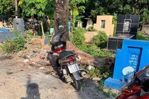 TP Hồ Chí Minh: CSGT dò định vị tìm được xe trong nghĩa địa