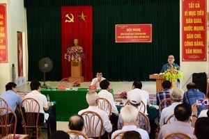 Bí thư Thành ủy Hoàng Trung Hải: Tiếp tục đổi mới sinh hoạt chi bộ ngày càng thiết thực, hiệu quả