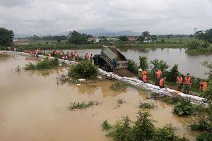 Hà Nội đã ứng phó kịp thời với lũ trên sông Bùi