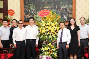 Thứ trưởng Lê Quang Tùng chúc mừng các cơ quan báo chí nhân Ngày Báo chí cách mạng Việt Nam
