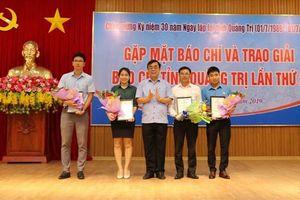 Loạt bài của Báo Lao Động đạt giải A Giải Báo chí tỉnh Quảng Trị
