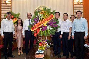 Bộ trưởng, Chủ nhiệm VPCP chúc mừng Cổng TTĐT Chính phủ nhân ngày 21/6