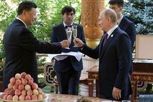 Tổng thống Nga tặng kem mừng sinh nhật Chủ tịch Trung Quốc