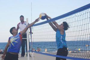 12 đội dự giải bóng chuyền bãi biển Đà Nẵng