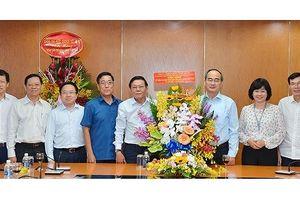 Bí thư Thành ủy TPHCM Nguyễn Thiện Nhân: 'Báo SGGP đạt thành tựu đáng trân trọng'