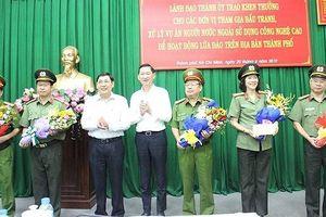 Khen thưởng các đơn vị phá án nhóm người nước ngoài lừa đảo
