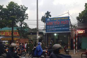 Khám nhà chủ doanh nghiệp gọi Giang '36' vây xe công an