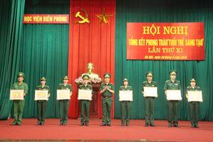 Học viện Biên phòng đạt nhiều thành tích xuất sắc trong phong trào 'Tuổi trẻ sáng tạo'