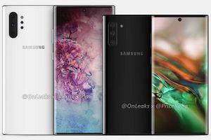 Samsung tiết lộ dòng Galaxy Note 10 vào ngày 7.8